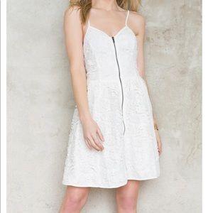 Shyann lace zippered dress / Francesca's Buttons